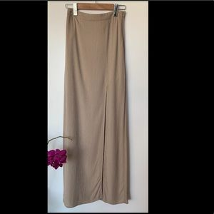 NWT Long Skirt with slit